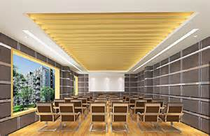 Interior design ceiling simple small meeting room
