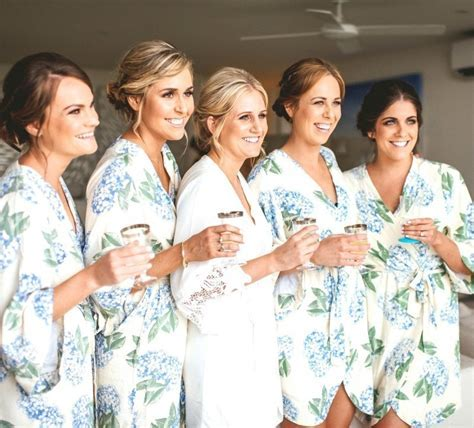 Bridesmaid robes that make getting ready the best part of