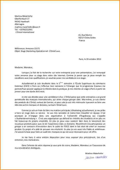 Lettre De Motivation Ecole Kinesitherapie 10 lettre de motivation ecole de commerce modele de facture
