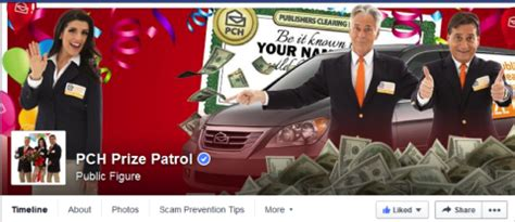 check out the new pch prize patrol fan page on facebook pch blog - Pch Prize Patrol Facebook Page