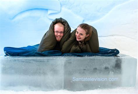 Hotel De Glace dormir em um hotel de gelo ou em iglu de neve em rovaniemi