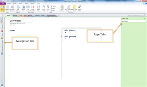 word notebook layout vs onenote may 2010 dynamic it a blog by michael wheatfill on