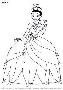 draw princesses learn how to draw from the princess and the frog