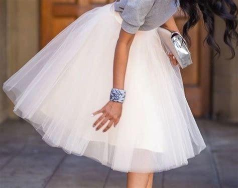 imagenes de faldas blancas largas faldas primavera verano 2014 todos los modelos foto 18