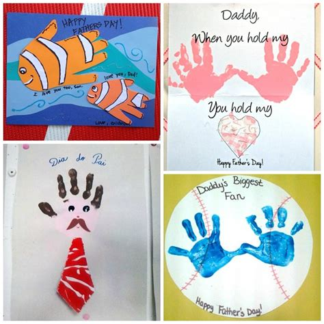 craft card ideas s day handprint gift ideas from crafty morning