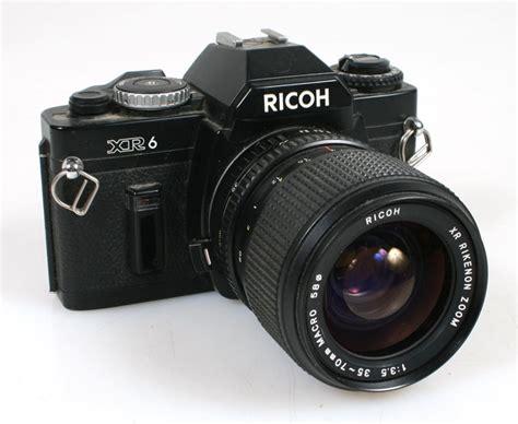 ricoh 35mm student 35mm ricoh xr6 w 35 70mm f3 5 lens ebay