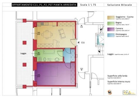 calcolo superficie lorda di pavimento in vendita alloggio c11 bilocale p1 residenza quot belvedere