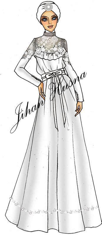 desain dress party 93 best desain abaya gamis batik gaun pengantin images on