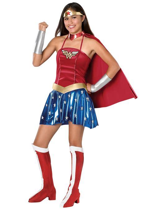 women halloween costume ideas teen wonder woman costume superhero teen halloween costumes