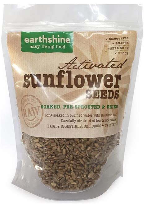 Shelf Of Sunflower Seeds by Activated Sunflower Seeds Soaked Sprouted Dried