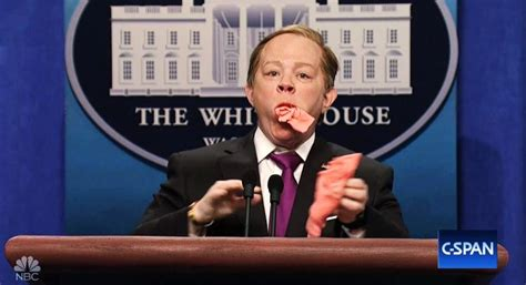 sean spicer returns snl melissa mccarthy returns as sean spicy spicer on snl