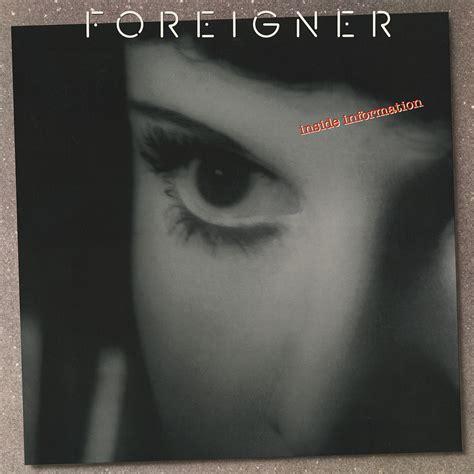 foreigner inside information vinyl album covers