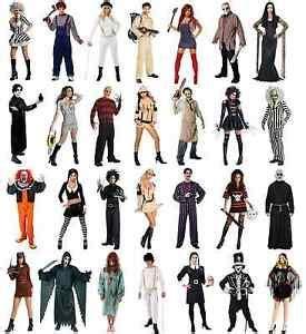 horror film costumes halloween scary  fancy dress