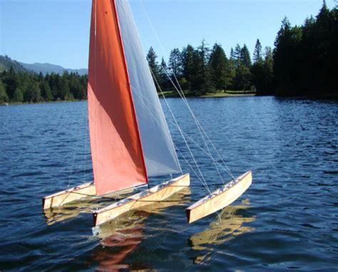 radio controlled sailing boats one secret catamaran tornado plans