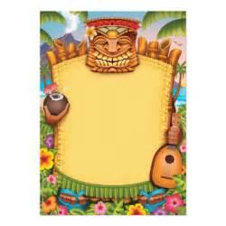 luau invitations hawaiian invitations 5 quot x 7 quot invitation card zazzle