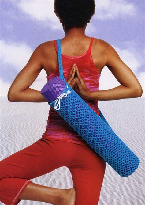 Knit Yoga Bag Free Pattern | knit a yoga mat bag canadian living