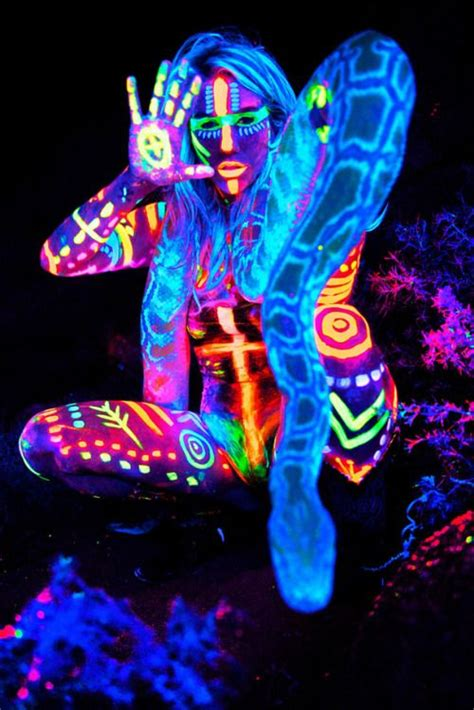 glow in the paint black 1000 ideas about neon painting on