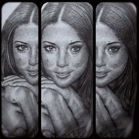 arianny celeste tattoo photo fan gets insanely accurate portrait of