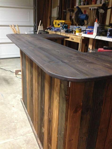plywood bar top backyard pallet bar diy i think i would use 4x8 plywood