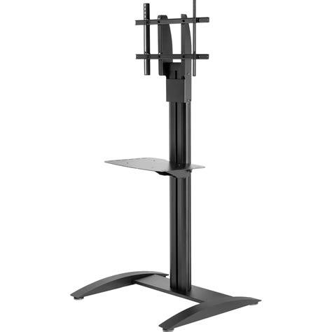 Samsung Tv Floor Stand With Shelf by Peerless Av Smartmount Flat Panel Floor Stand Ss560m New B H