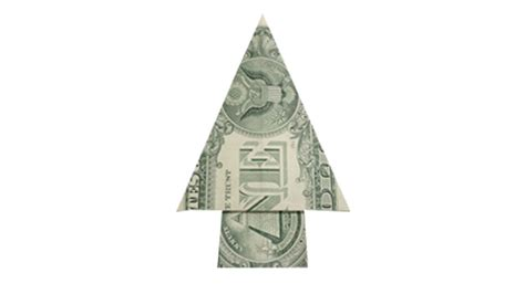 Tree Dollar Bill Origami - how to fold a money origami tree