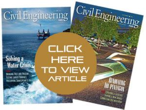 asces civil engineering magazine  questions precision executive search