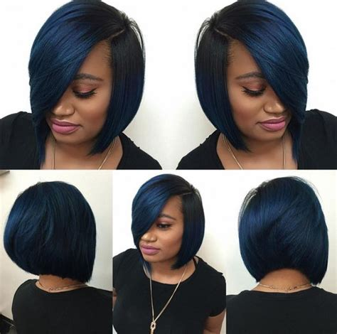 a line bob weave 35 stunning protective sew in extension hairstyles