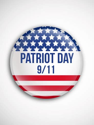 remembering  day patriot day card birthday