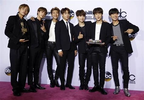 bts usa k pop boy group bts looks to future after billboard music