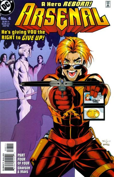 arsenal marvel arsenal vol 1 4 dc comics database