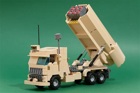 Emco Brick Army Missile Truck moc missile launcher quot version b quot special lego themes eurobricks forums