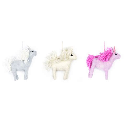 Handmade Unicorn - handmade felt unicorn by felt so notonthehighstreet