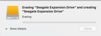 how to format seagate external hard drive in mac how to format or partition an external hard drive for mac