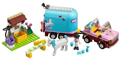 Lego Friends Bela S Trailer 10161 lego friends s trailer l 233 go