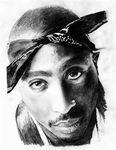 Drawing 2pac by 2pac By Zalmay On Deviantart