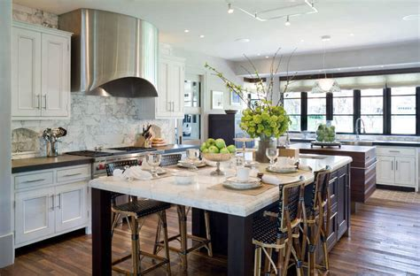 Kitchen Island With Table Combination 68 Deluxe Custom Kitchen Island Ideas Jaw Dropping Designs
