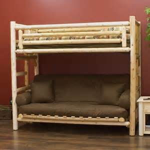 lakeland futon log bunk bed home and things to