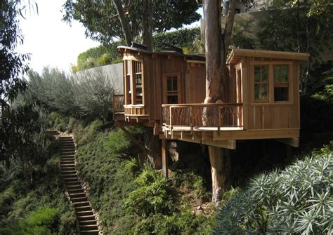 treehouse living tree house green living just two bears