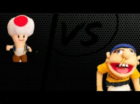 jeffy the rapper vs toad!!!! youtube