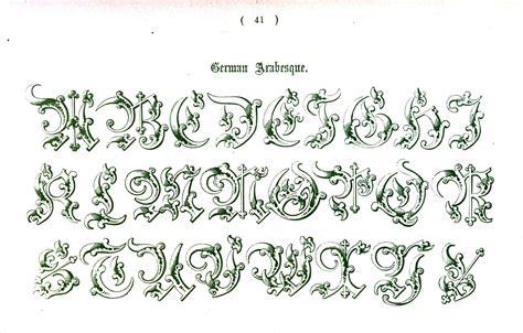 Letter Types typography alphabet ornamental renaissance 27