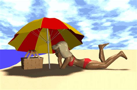 imagenes vacaciones con movimientos gif animados gif animados transparentes de playa