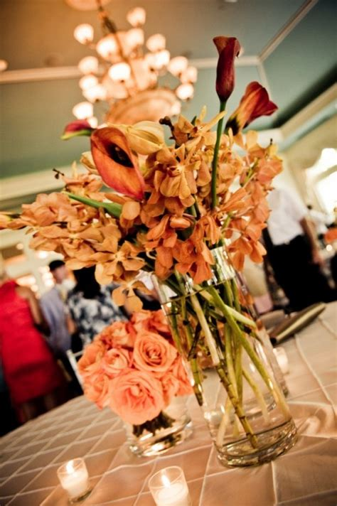 beautiful centerpieces beautiful fall wedding centerpieces her101