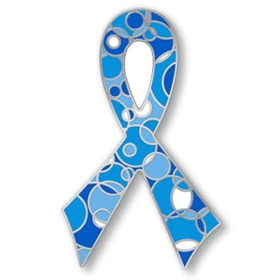 pin colon cancer ribbon clip on