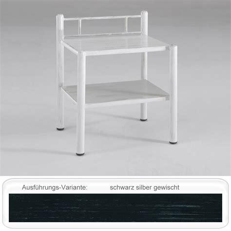 Nachttisch Silber Metall by Nachttisch Paxi 45x61x36 Cm Metall Farbe Nach Wahl