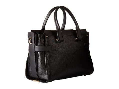 Coach Swagger Black Flower coach pebbled leather coach swagger 27 at zappos