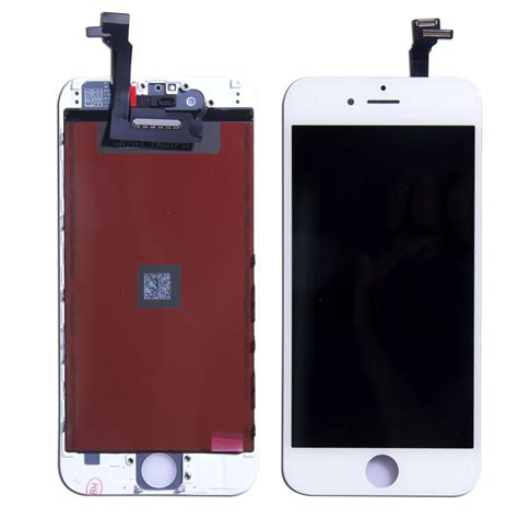 Touchscreen T1g Plus Black White black white apple iphone 6 6s 6plus touch screen digitizer