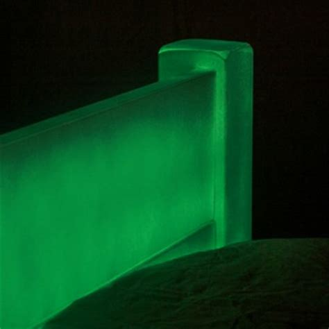 glow in the dark bedding glowing bed