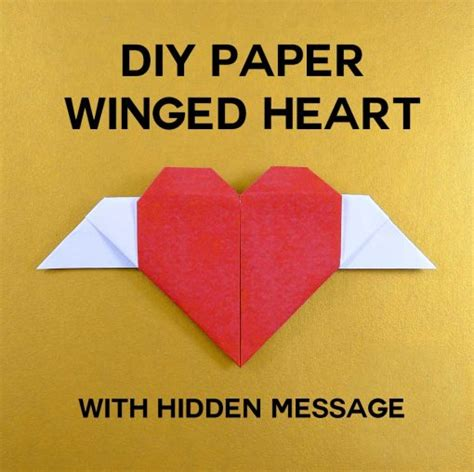 How To Make A Secret Message On Paper - easy paper craft ideas projects maker