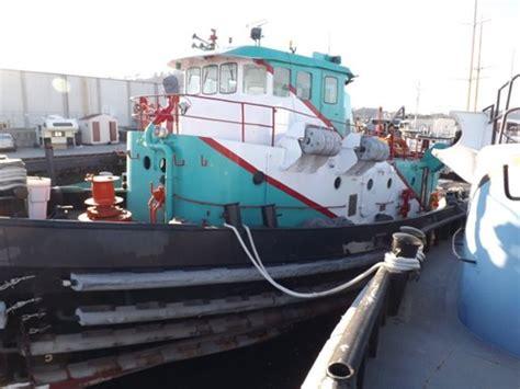 navy tug boats for sale ex navy harbor tug ex navy 2000 hp harbor tug 1974 used