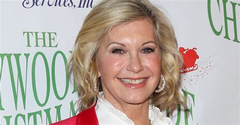 olivia newton john latest olivia newton john on how she hopes chemotherapy will soon